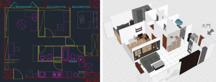 設計寵物宅 3D